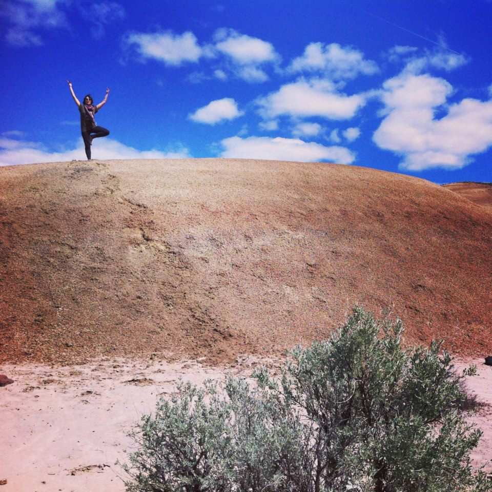 yoga painted hills